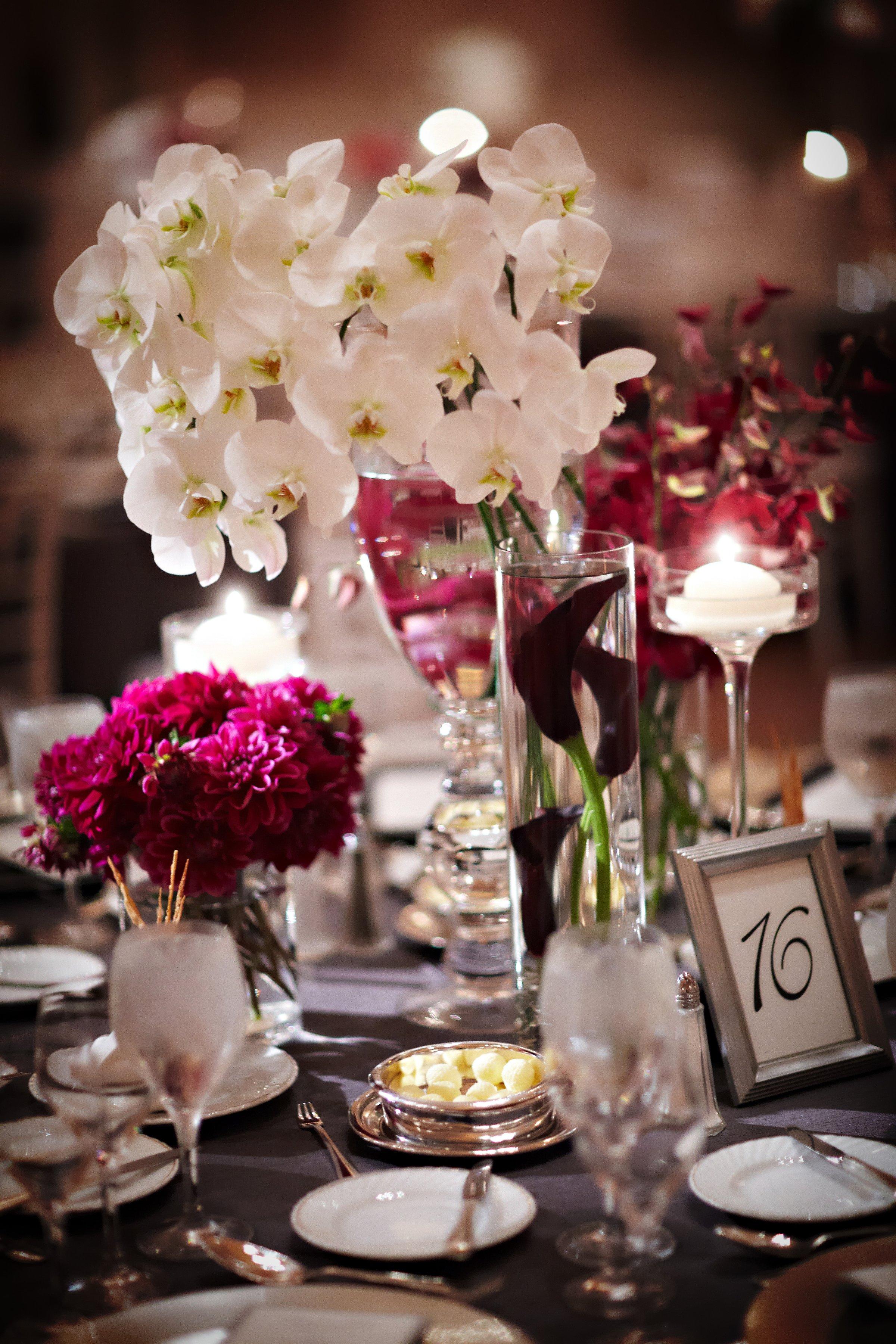 Home Decor Contemporary Flower Arrangements On