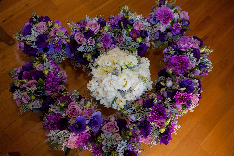 Purple Bohemian Wedding D S
